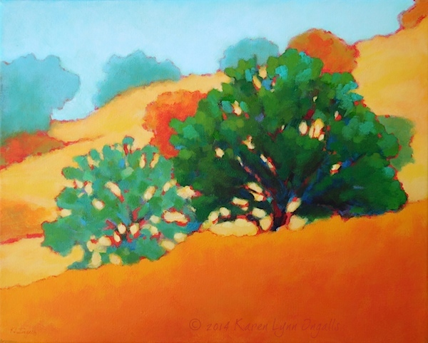 California landscape painting